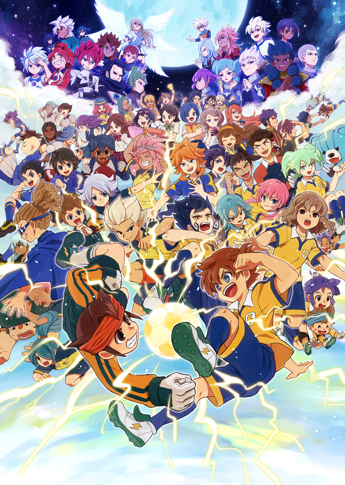Inazuma eleven mobile wallpaper 1321949 zerochan anime for Domon x ichinose