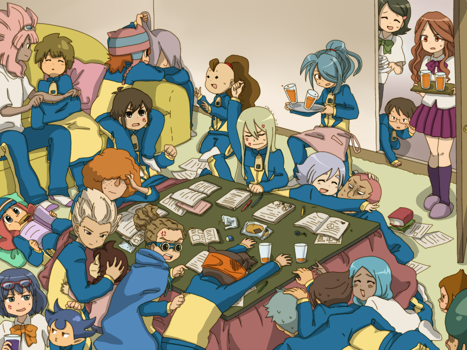Inazuma eleven wallpaper 227804 zerochan anime image board for Domon x ichinose