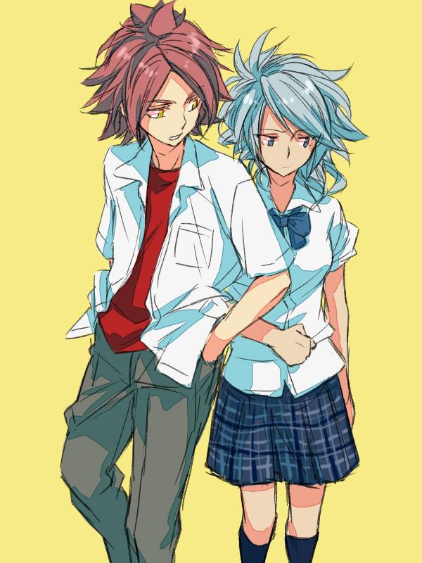 Tags: Anime, Level-5, Inazuma Eleven, Nagumo Haruya, Suzuno Fuusuke