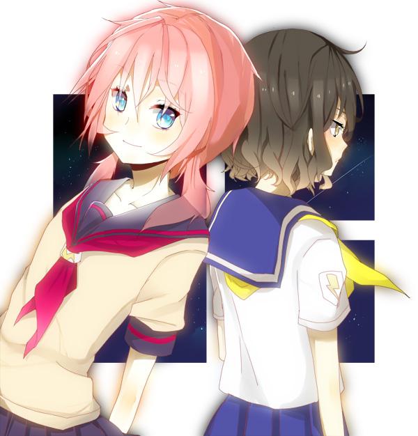 Tags: Anime, Pixiv Id 297383, Level-5, Inazuma Eleven GO, Inazuma Eleven, Kirino Ranmaru, Shindou Takuto