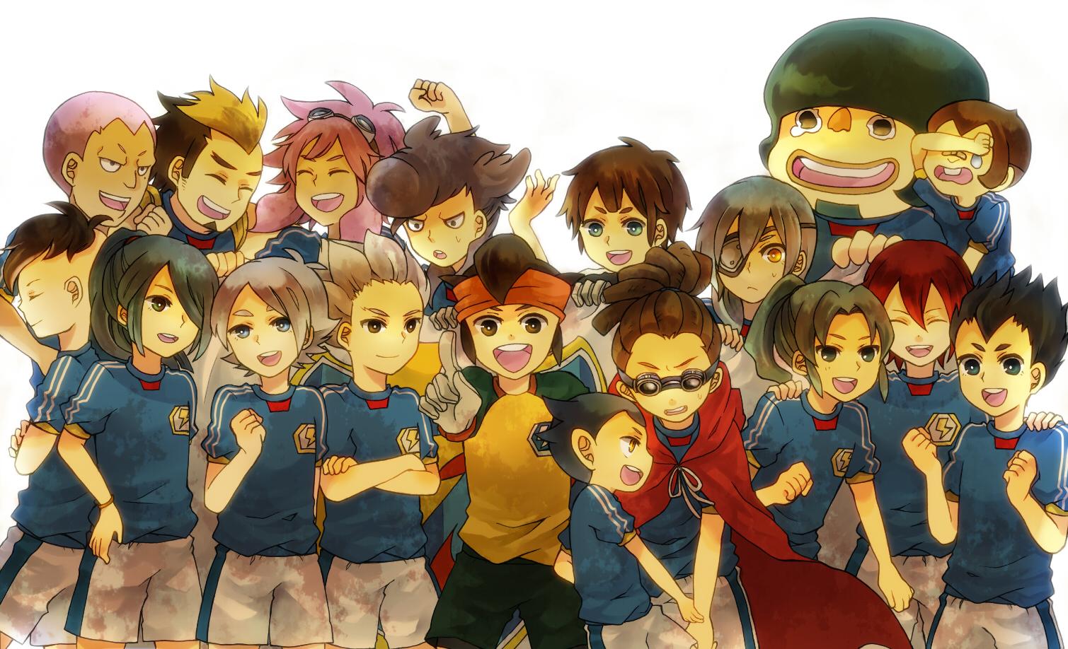 Inazuma All Stars Endou Mamoru Zerochan Anime Image Board