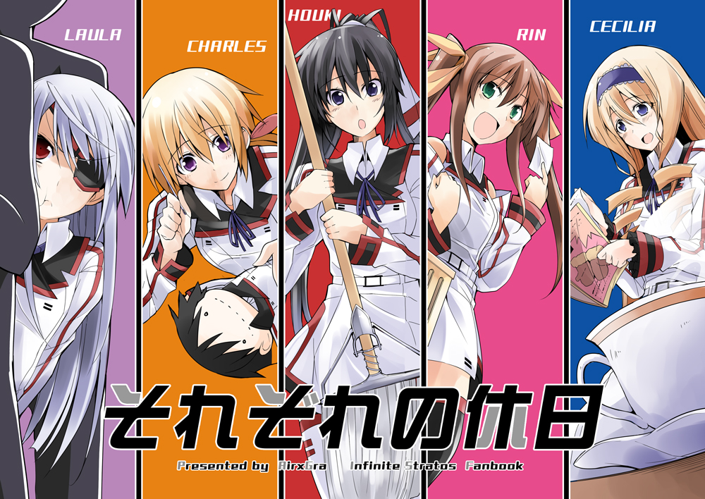 Infinite stratos characters bust size