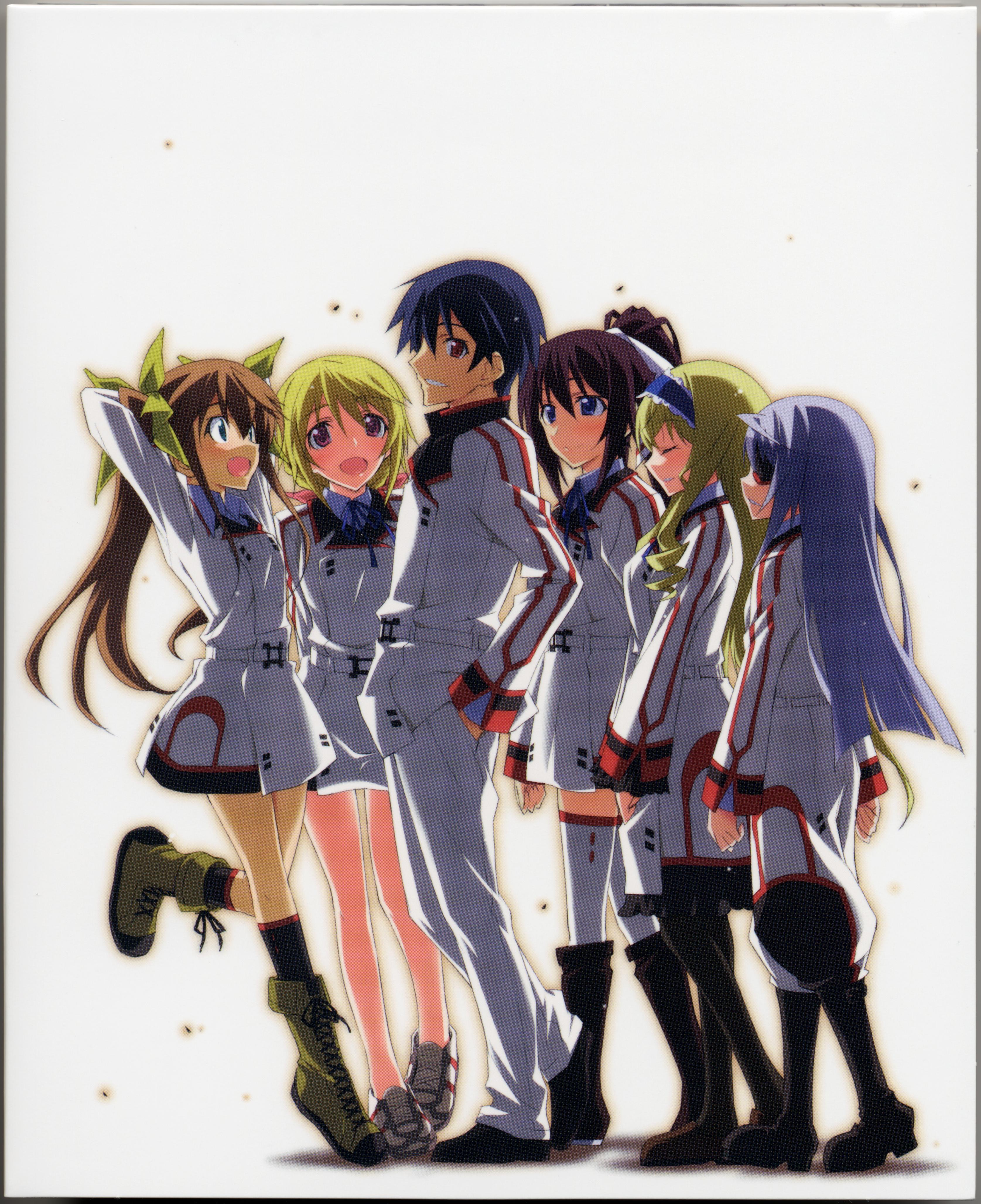 Tags Anime Kurashima Tomoyasu 8 Bit Studio Infinite Stratos