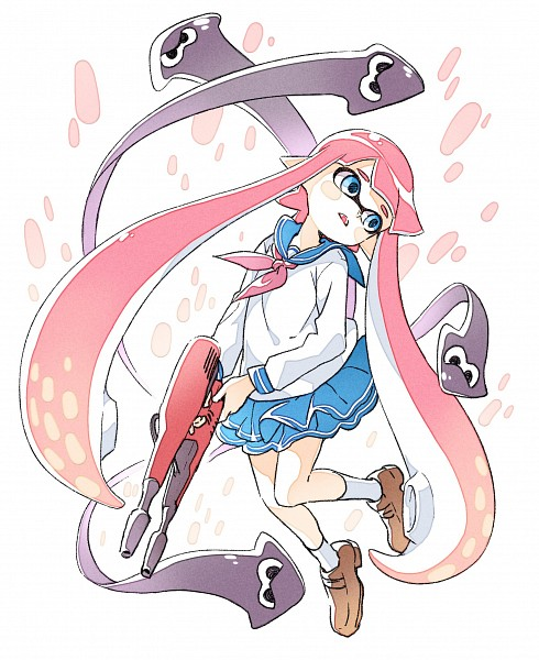 Inkling Splatoon Image 2123598 Zerochan Anime Image Board
