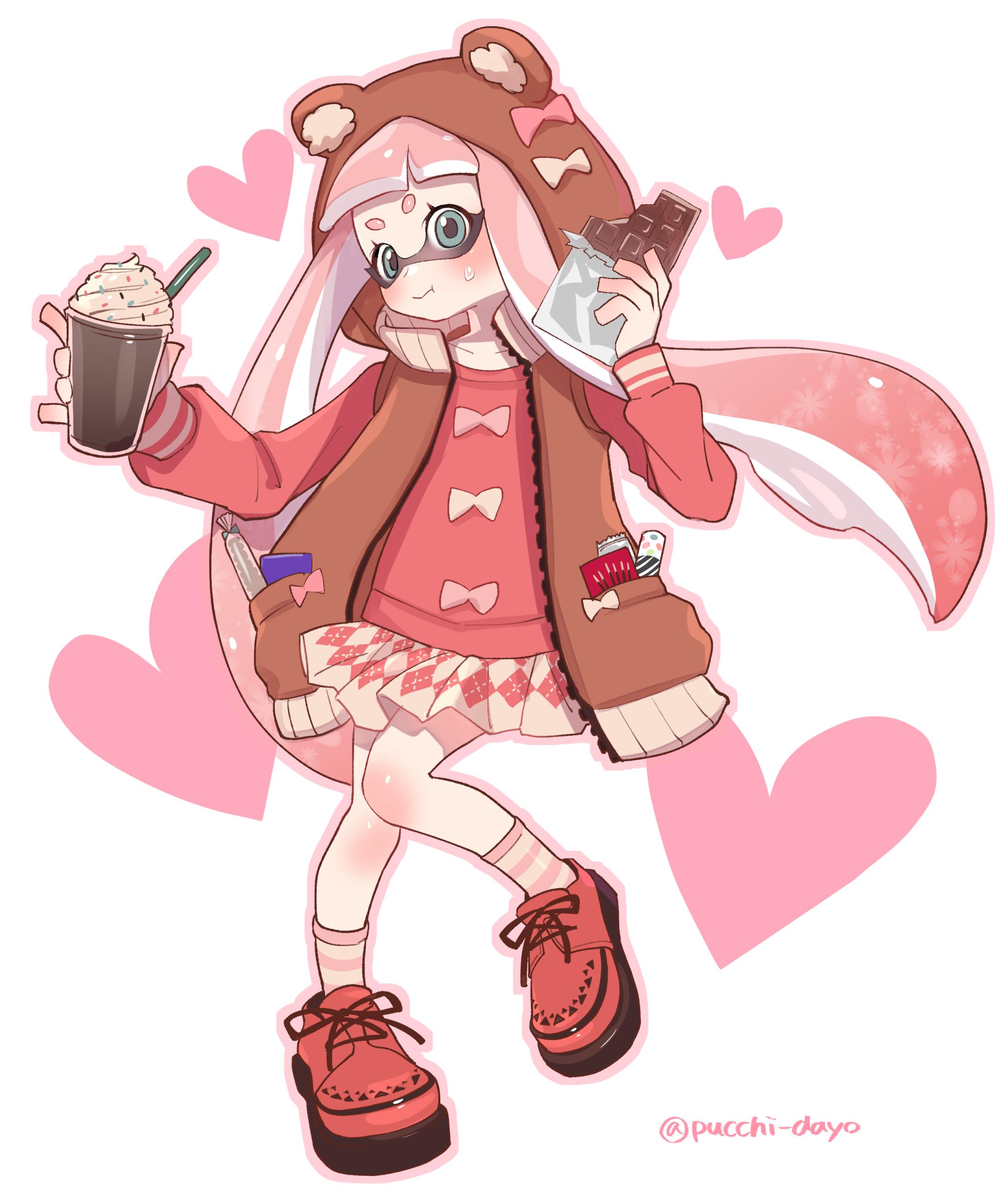 Inkling Splatoon Image 2121245 Zerochan Anime Image Board
