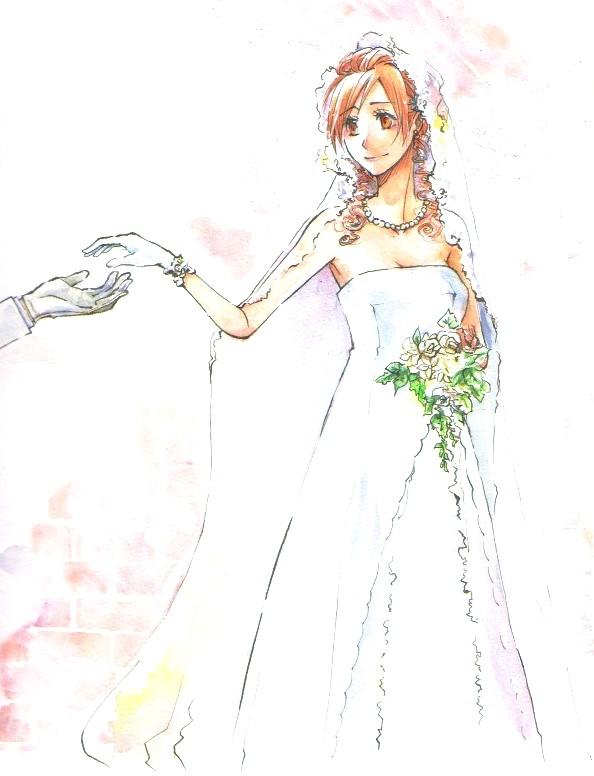 Inoue orihime 130276 zerochan for Anime wedding dress up games