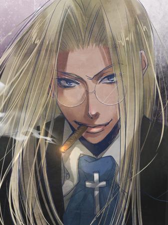 Tags: Anime, Kyaraco, HELLSING, Integra Hellsing, Cigar, Fanart, Pixiv