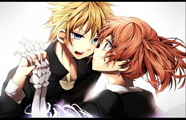 Tags: Anime, Pixiv Id 2336696, Inu x Boku SS, Roromiya Karuta, Watanuki Banri, Bone