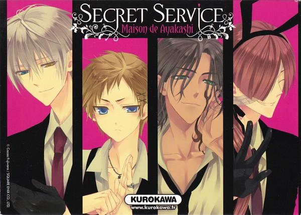 Tags: Anime, Fujiwara Cocoa, Inu x Boku SS, Sorinozuka Renshou, Natsume Zange, Watanuki Banri, Miketsukami Soushi