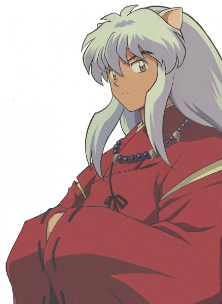 Tags: Anime, InuYasha, InuYasha (Character), Bead Necklace, Inumimi, Beads