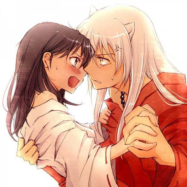 Tags: Anime, Kin'Iro Nyanko, InuYasha, Higurashi Kagome, InuYasha (Character), Grabbing, Vein Pop