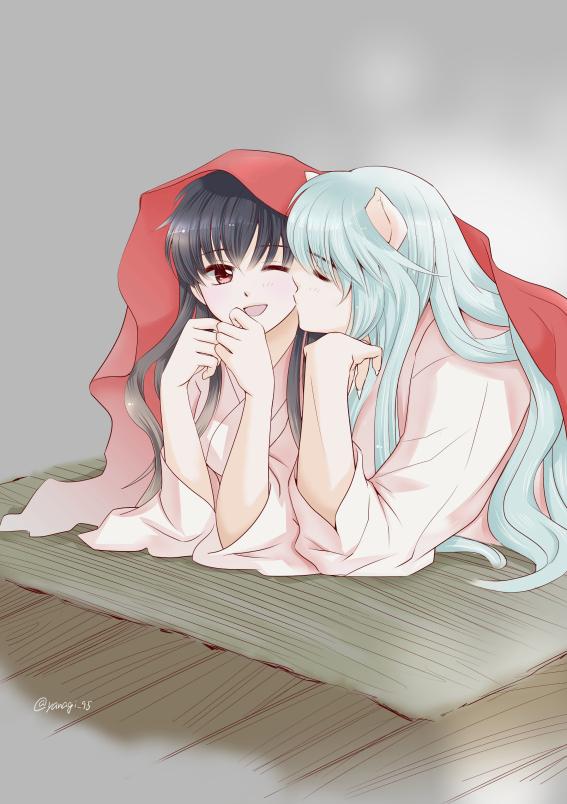 Cheeks Together Of Zerochan Anime Board Pinkworld 1