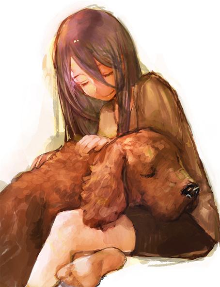 Tags: Anime, Pixiv Id 3029712, No.6, Inukashi, Androgynous, Dog