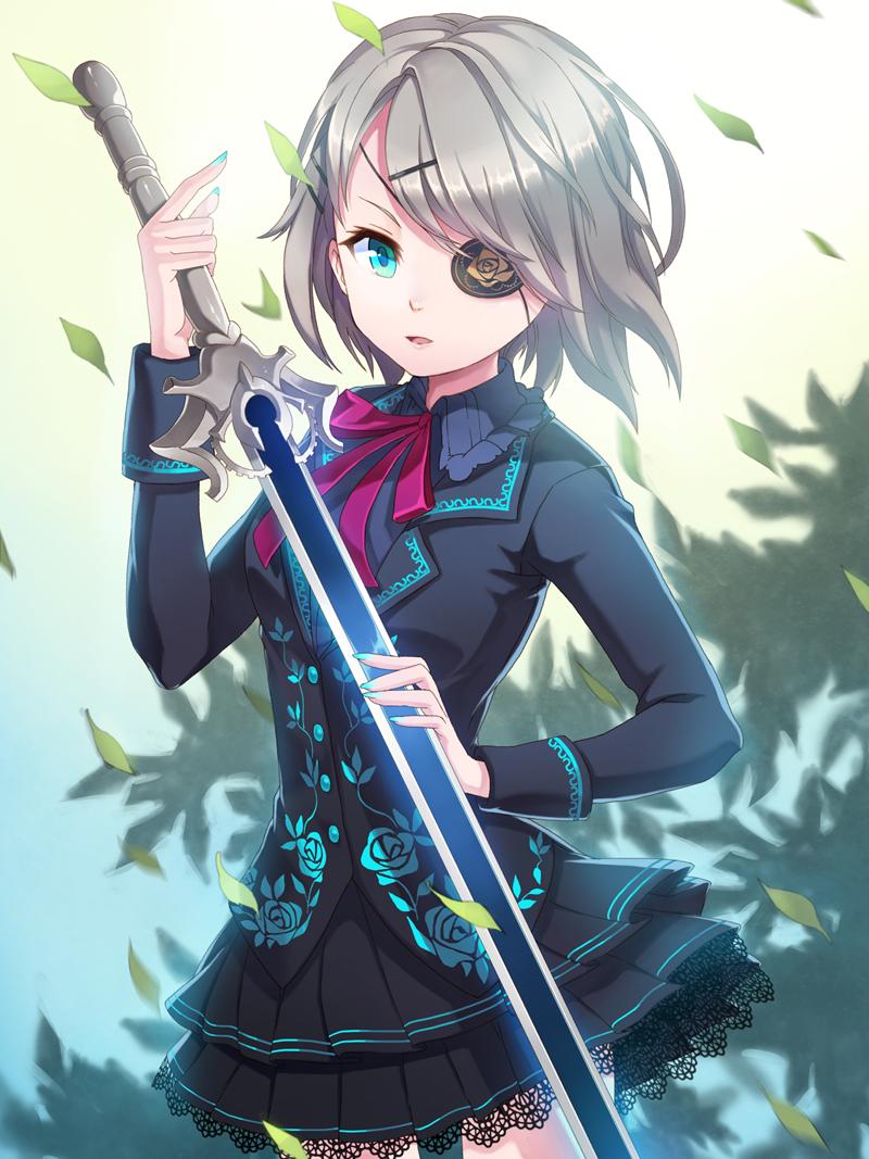 Anime Characters Katana : Iri flina sword girls zerochan anime image board