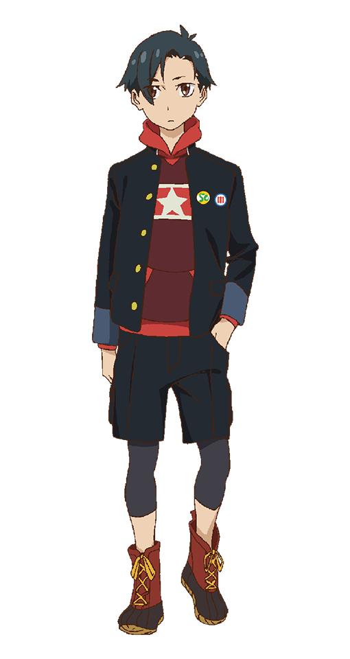Tags: Anime, Iwasaki Shouta, MAPPA, Punch Line, Iridatsu Yuuta, PNG Conversion, Official Art, Cover Image, Mobile Wallpaper