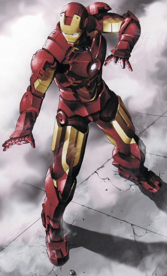 Iron man character mobile wallpaper 838352 zerochan - Iron man wallpaper anime ...
