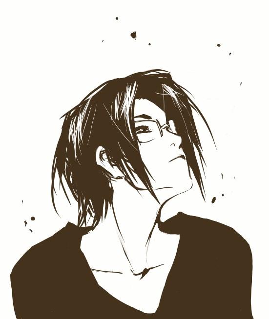 Tags: Anime, BLEACH, Ishida Uryuu, Fanart