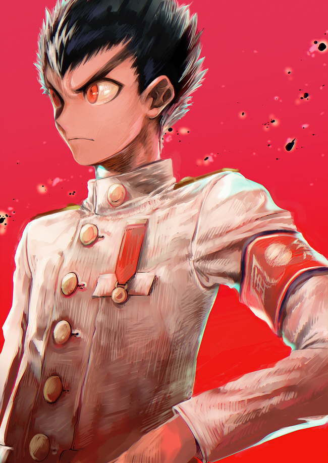 Tags: Anime, Ogino Atsuki, Danganronpa, Ishimaru Kiyotaka, Pixiv, Revision, Fanart, Fanart From Pixiv, Mobile Wallpaper