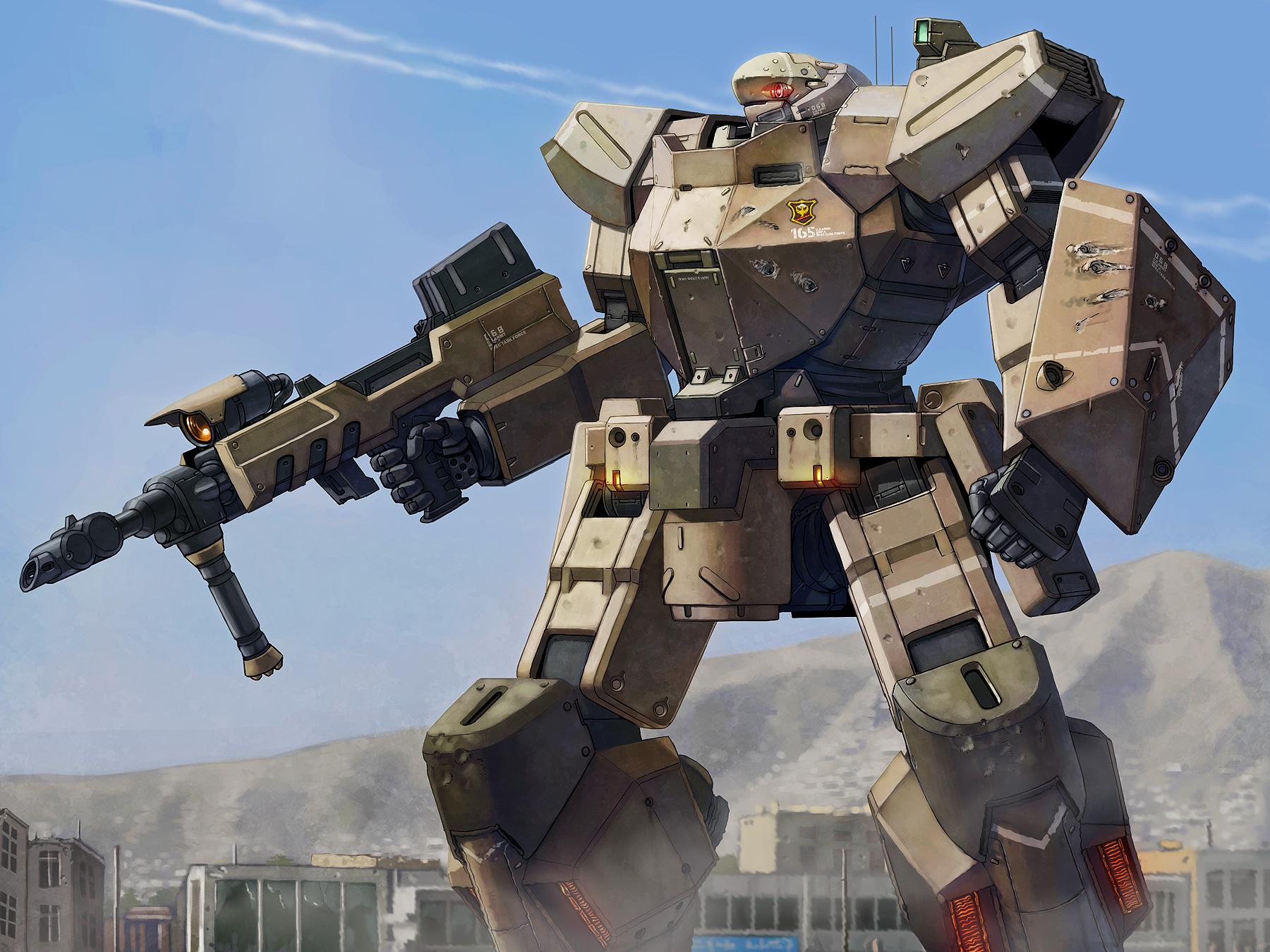 Картинки про роботов из аниме