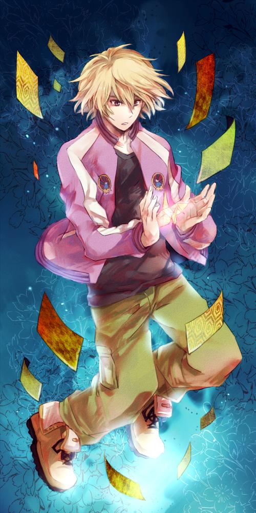 Tags: Anime, Hatchxox, TIGER & BUNNY, Ivan Karelin, Origami, Fanart, Pixiv