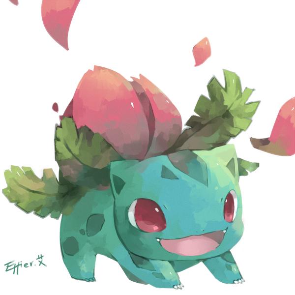Tags: Anime, Effier Kyo, Pokémon, Ivysaur, Pixiv, Fanart