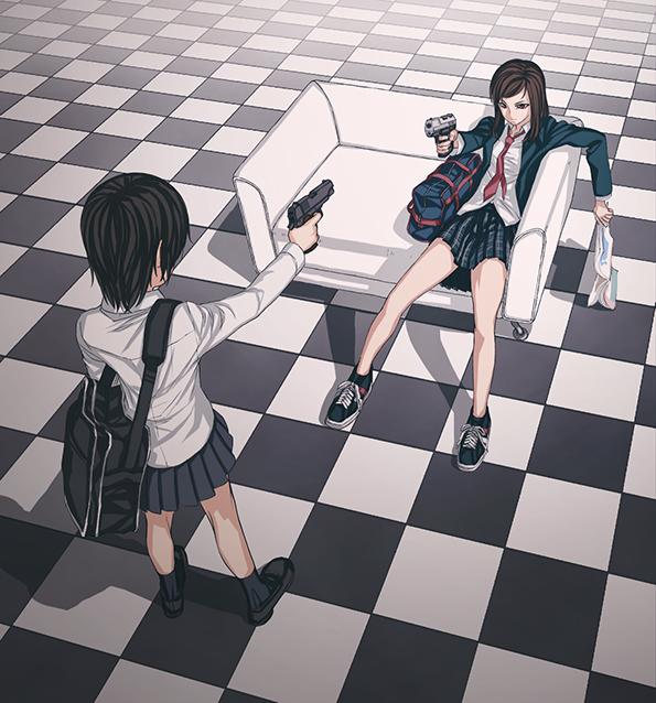 Tags: Anime, Iwai Ryo, Pixiv, Original