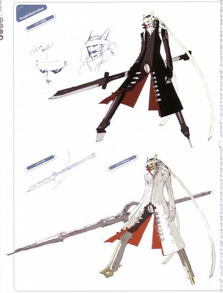 Tags: Anime, Soejima Shigenori, Atlus, P4 Official Design Works, Shin Megami Tensei: PERSONA 4, Izanagi, Izanagi-no-okami