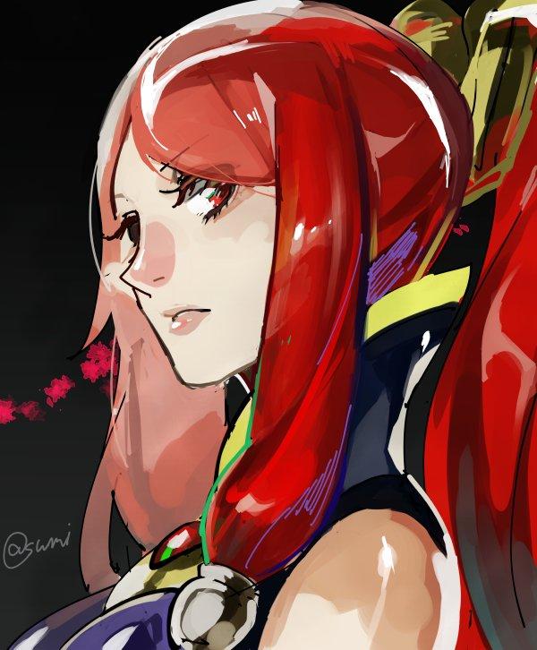 Tags: Anime, Pixiv Id 10514459, BlazBlue, Tsubaki Yayoi, Izayoi (Blazblue), Twitter, Fanart