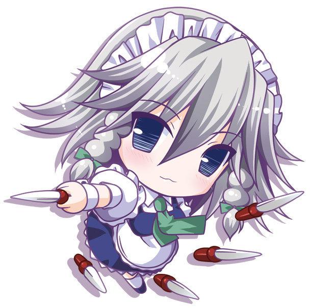 Tags: Anime, Touhou, Izayoi Sakuya