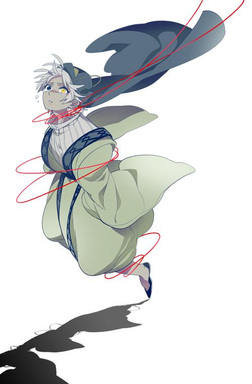 Tags: Anime, Dalc Rose, MAGI: The Labyrinth of Magic, Ja'far, Fanart, Fanart From Pixiv, Mobile Wallpaper, Pixiv
