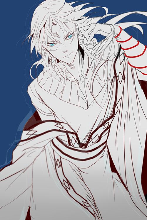 Tags: Anime, C P .Ieng, MAGI: The Labyrinth of Magic, Ja'far, Fanart, Fanart From Pixiv, Mobile Wallpaper, Pixiv