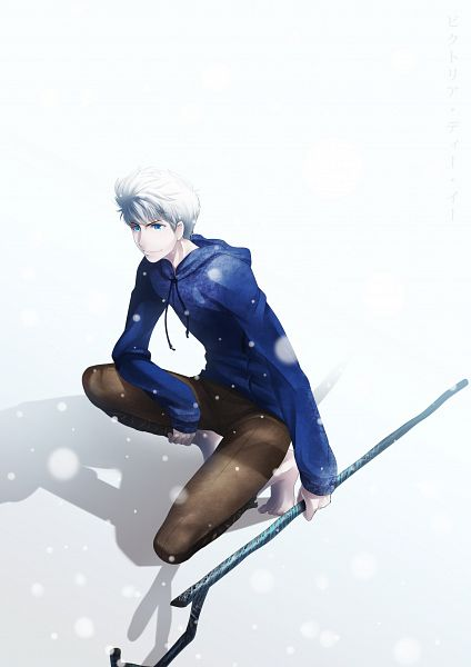Tags: Anime, Kotorikurama, Rise of the Guardians, Jack Frost, Shadow, Crouching, Snowing