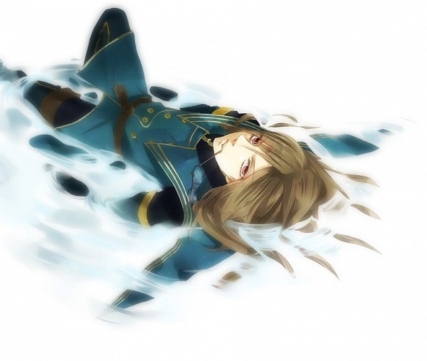 Tags: Anime, Niiko, Tales of the Abyss, Jade Curtiss, Laying in Water
