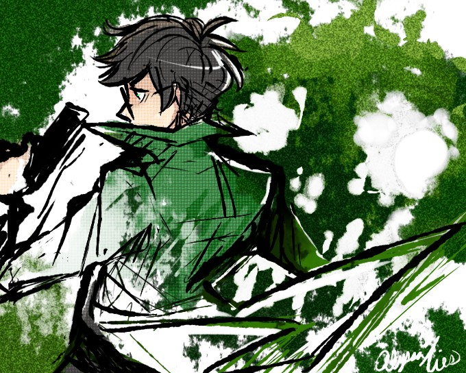Tags: Anime, Alyssaties, Homestuck, Jake English