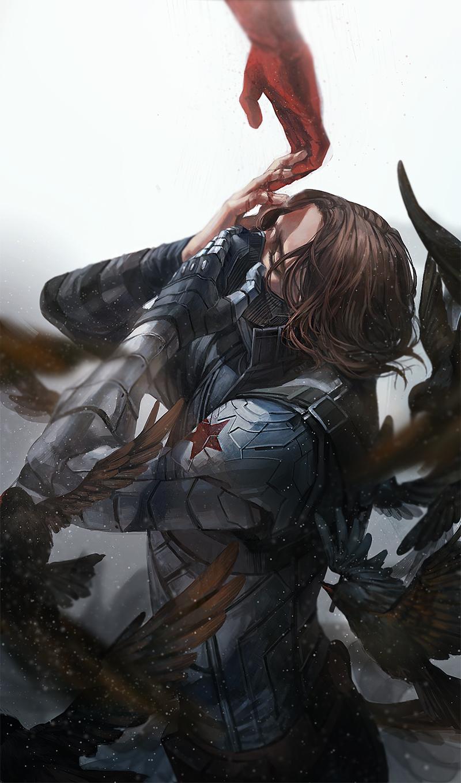 James Buchanan Barnes - Marvel - Zerochan Anime Image Board