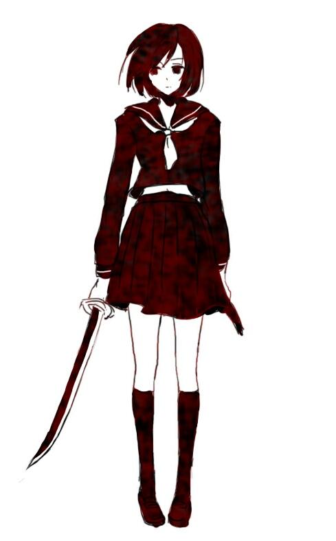 Tags: Anime, Ichiko Vein, Axis Powers: Hetalia, Japan (Female), Pixiv, Mobile Wallpaper, Fanart, Nyotalia