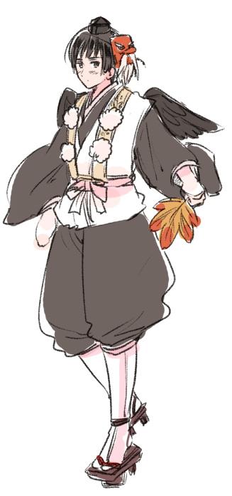 Tags: Anime, Himaruya Hidekaz, Axis Powers: Hetalia, Japan, Tengu Mask, Hetaween 2011, Official Art, Hetaween