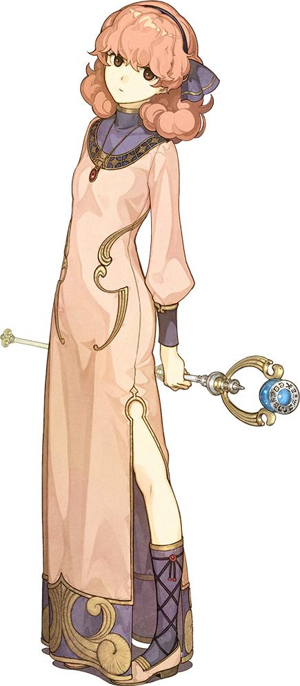 Tags: Anime, Hidari, Intelligent Systems, Fire Emblem Gaiden, Jenny (Fire Emblem), Cover Image, PNG Conversion, Official Art, Genny (fire Emblem)