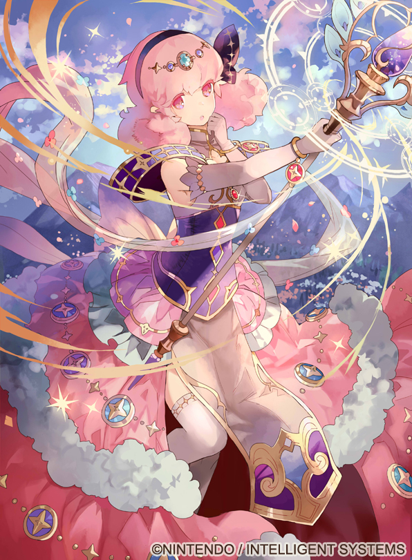 Tags: Anime, Kotetsu (Popeethe), Intelligent Systems, TCG Fire Emblem 0, Fire Emblem Gaiden, Jenny (Fire Emblem), Mobile Wallpaper, Official Art, Official Card Illustration, Genny (fire Emblem)