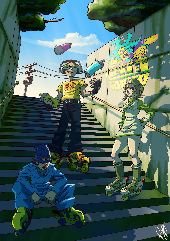 Beat Jet Set Radio Zerochan Anime Image Board