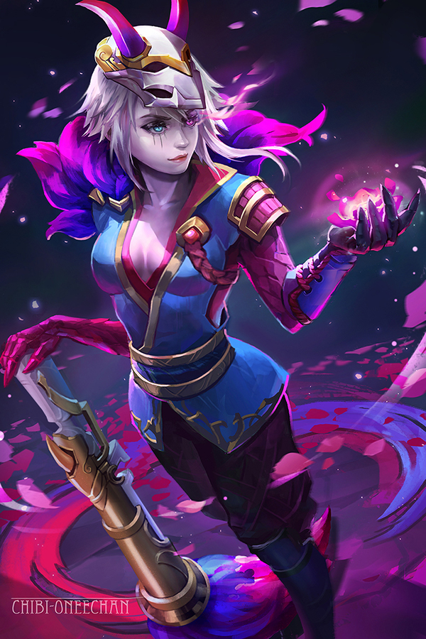 Character SFM & Blender - Noriko