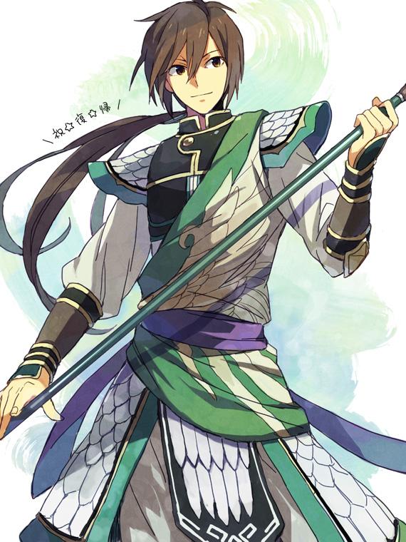Tags: Anime, Ebira, Dynasty Warriors, Jiang Wei, Fanart, Pixiv