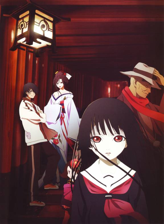 Tags: Anime, Jigoku Shoujo, Enma Ai, Ichimoku Ren, Hone-Onna