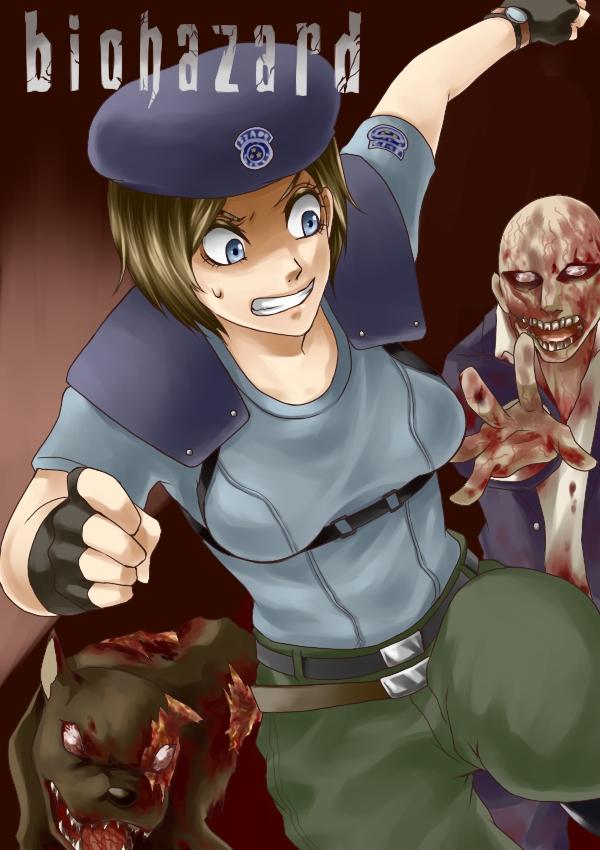 Tags: Anime, Legemd, Resident Evil, Jill Valentine, Pixiv, S.T.A.R.S