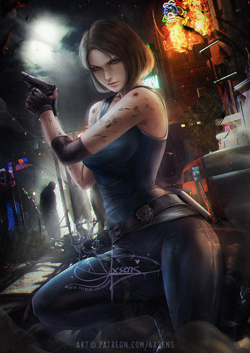 Jill Valentine Resident Evil Image 2903307 Zerochan Anime