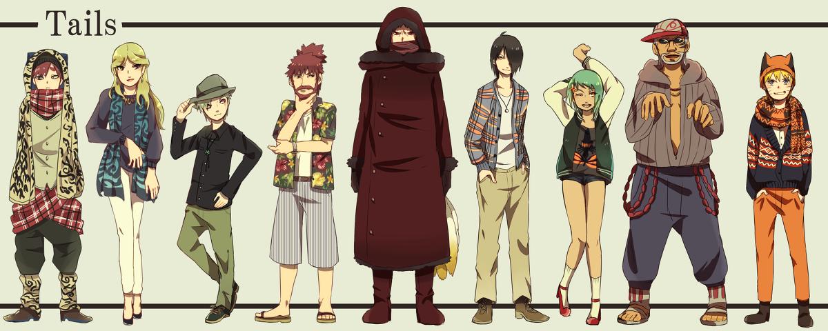 Jinchuuriki - NARUTO - Image #1806053 - Zerochan Anime