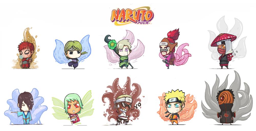 Jinchuuriki/#429291 - Zerochan Gaara And Naruto Chibi