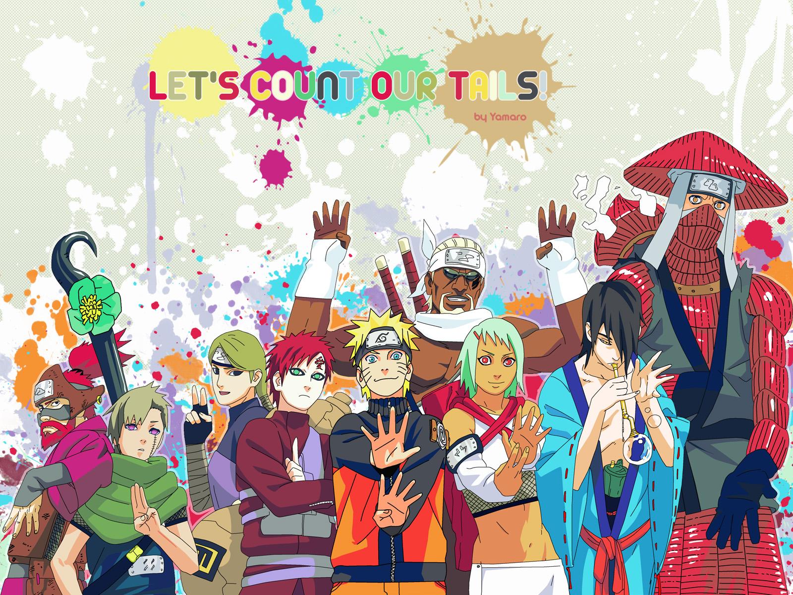 jinchuuriki - naruto - wallpaper #991206 - zerochan anime image board