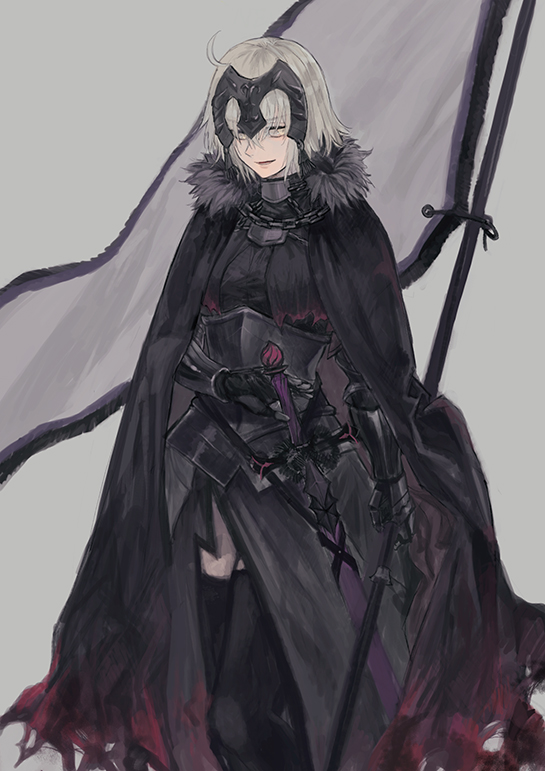Tags: Anime, Pixiv Id 6124030, Fate/Grand Order, Joan of Arc (Fate/Apocrypha), Joan Alter, Fanart From Pixiv, Pixiv, Fanart