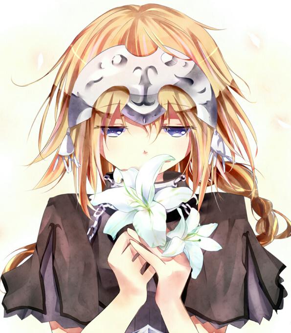 Tags: Anime, Pixiv Id 1904026, Fate/Apocrypha, Joan of Arc (Fate/Apocrypha), White Lily, Pixiv, Fanart